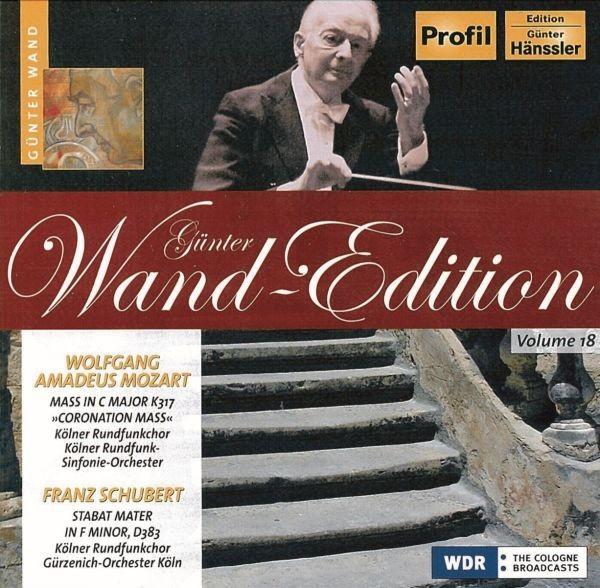 Mozart/Schubert: Messe C-Dur/Stabat Mater