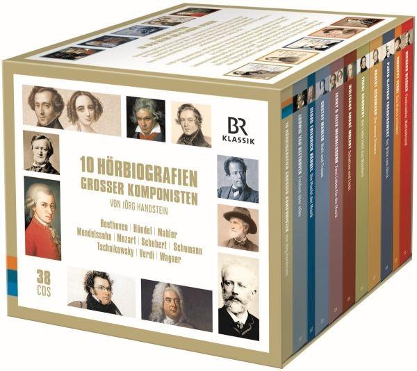 10 Hörbiografien grosser Komponisten