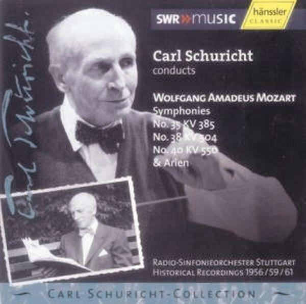 Mozart: Sinfonien 35,38+40