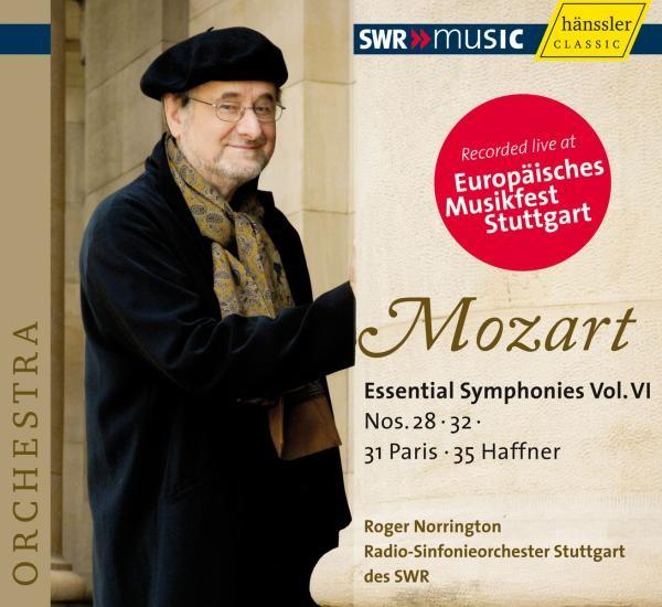 Mozart: Sinfonien 28,31,32+35