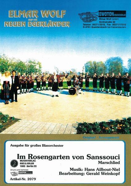 Im Rosengarten von Sanssouci