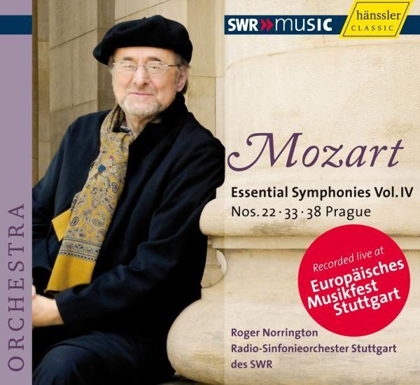 Mozart: Sinfonien 22,33+38