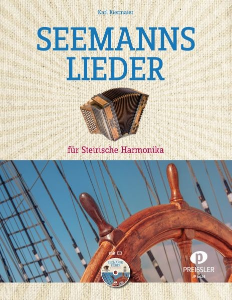 Seemannslieder für Steirische Harmonika mit CD
