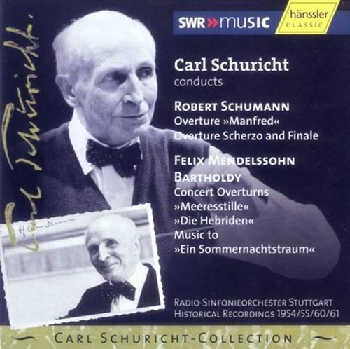 Schumann/Mendelssohn: Ouvertüren
