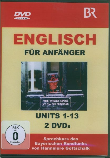 Englisch für Anfänger DVD Komplettpaket