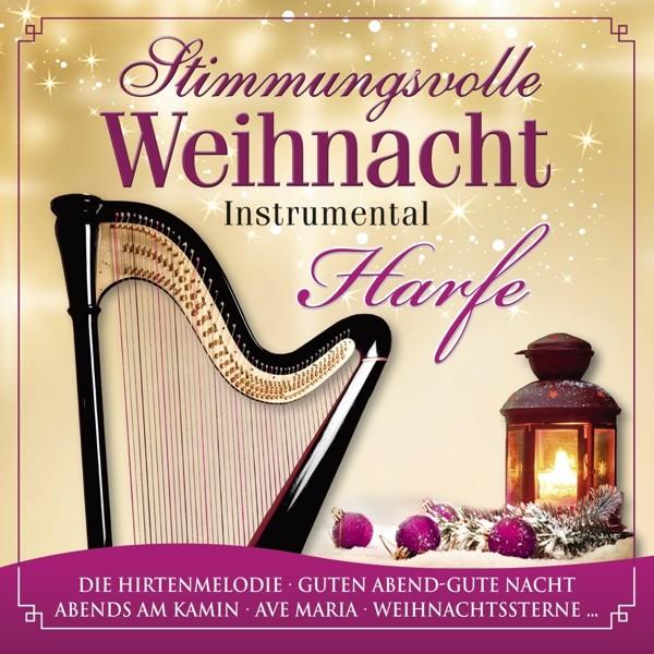 Stimmungsvolle Weihnacht 1-Harfe