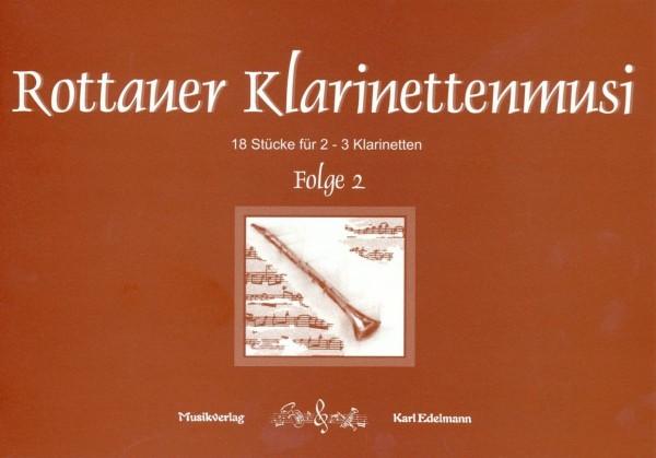 Rottauer Klarinettenmusi Folge 2