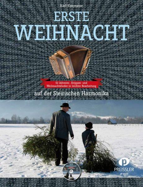 Erste Weihnacht auf der Steirischen Harmonika mit CD