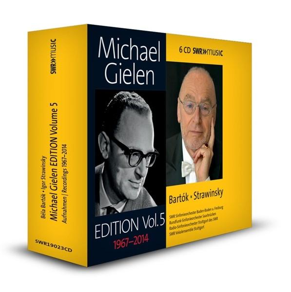 Bártok/Strawinsky: Michael Gielen Edition,Vol.5