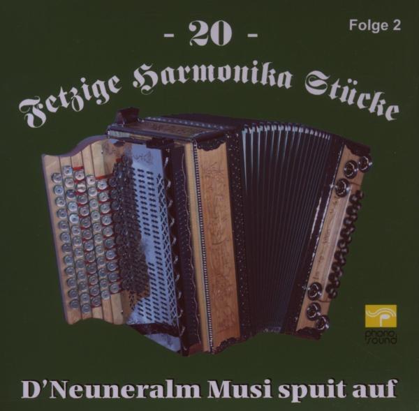 20 Fetzige Harmonika St