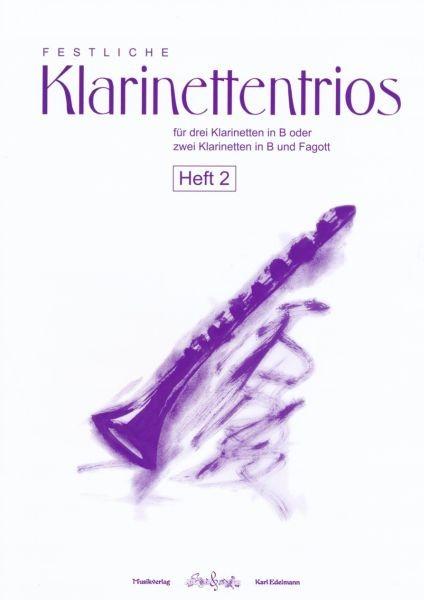 Festliche Klarinettentrios Heft 2