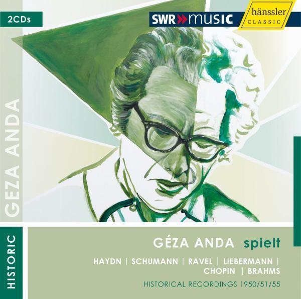 Geza Anda Spielt Solo Recitals