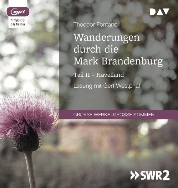 Fontane: Wanderungen M.Brandenburg 2 (1mp3-CD)