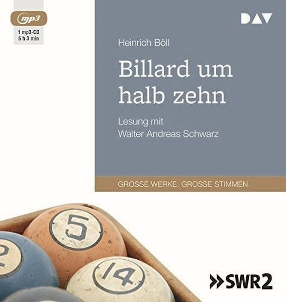 Böll: Billard um halb zehn (1mp3-CD)