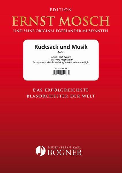 Rucksack und Musik