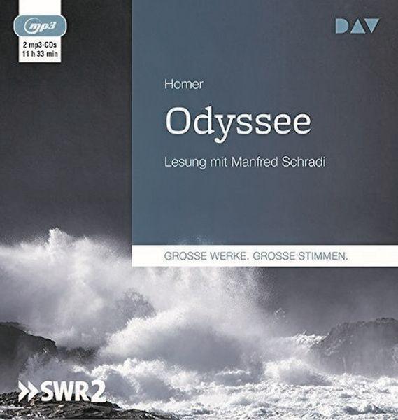 Homer: Odyssee (2mp3-CD)