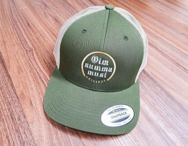 Vintage Cap mit Logostick