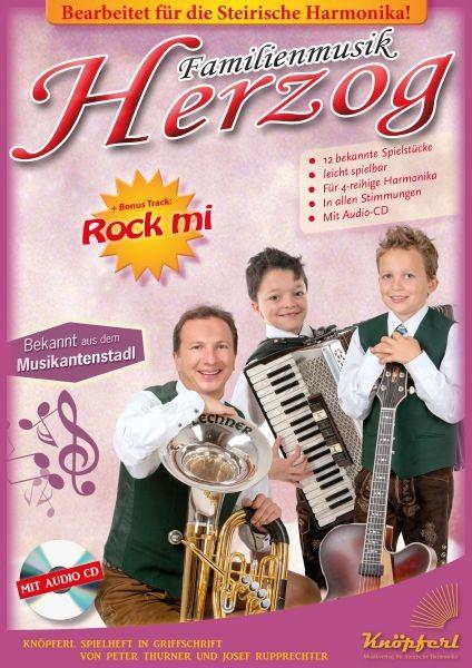 Familienmusik Herzog mit CD