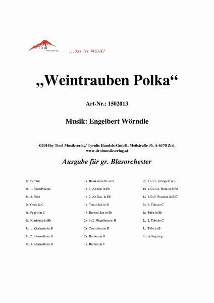Weintrauben Polka