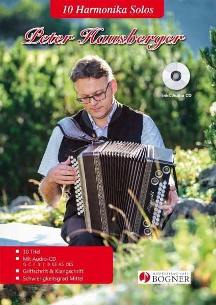 10 Harmonika Solos in Griff- und Klangschrift mit CD