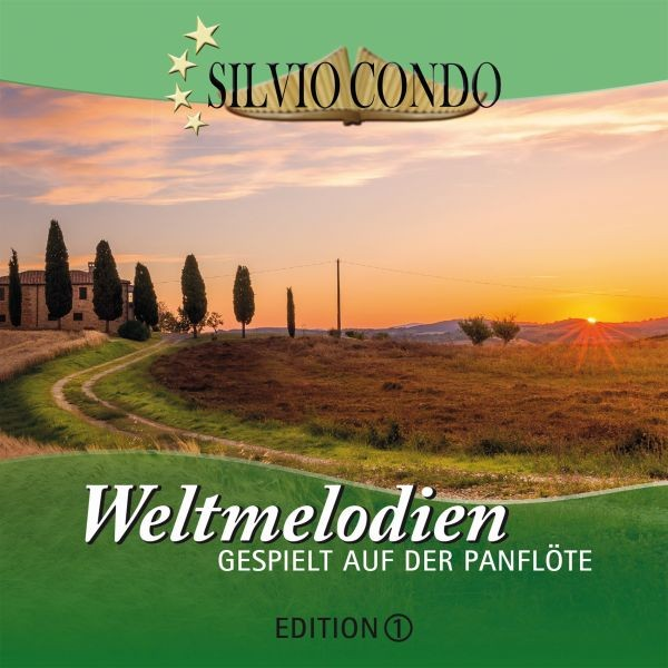 Weltmelodien auf der Panflöte,Ed.1