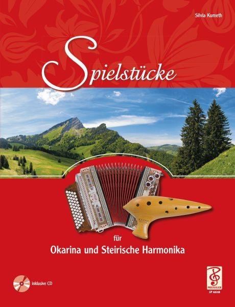 Spielstücke für Okarina und Steirische Harmonika mit CD