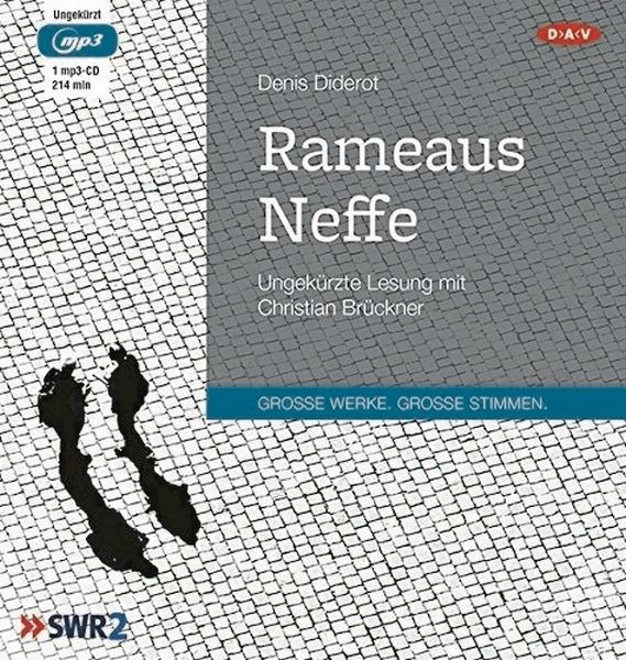 Diderot: Rameaus Neffe (1mp3-CD)