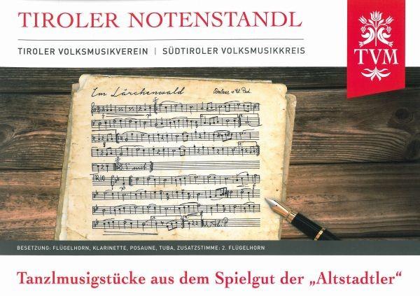 Heft 26 - Tanzlmusigstücke 'Altstadtler'