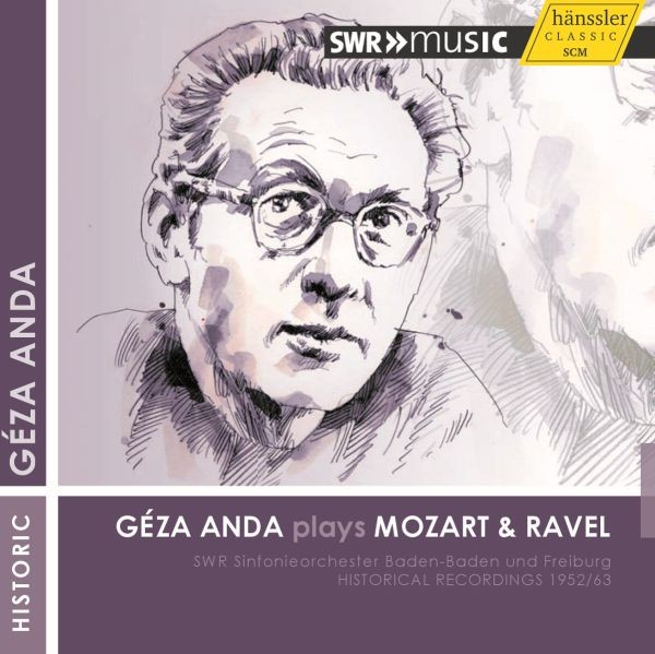 Anda plays Mozart & Ravel