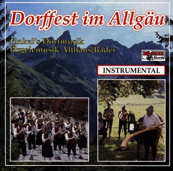 Dorffest Im Allgäu
