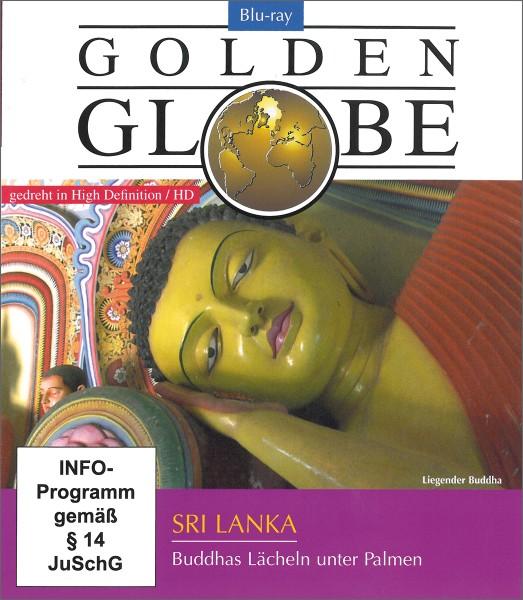 Sri Lanka-Buddhas lächeln unter Palmen