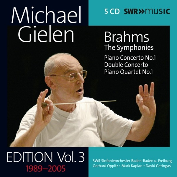 Brahms: Michael Gielen Edition,Vol.3