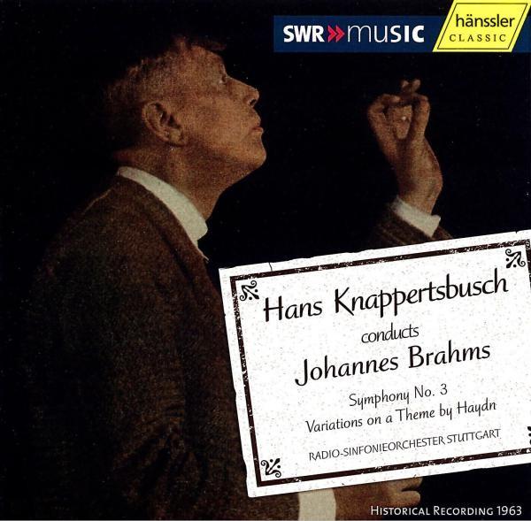 Brahms: Sinfonie 3/Variationen
