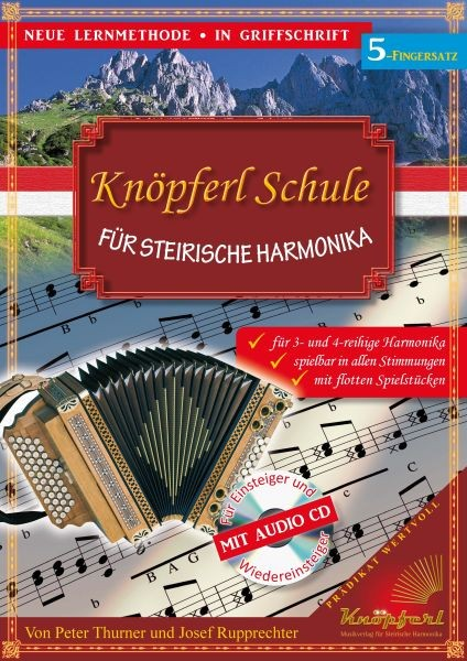 Knöpferl-Schule 5 FS mit CD