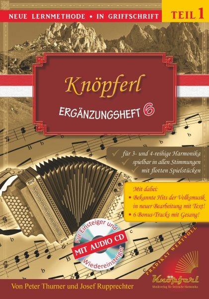Knöpferl Ergänzungsheft mit CD