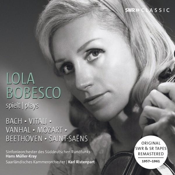 Lola Bobesco spielt Bach,Vitali,Vanhal,Mozart..