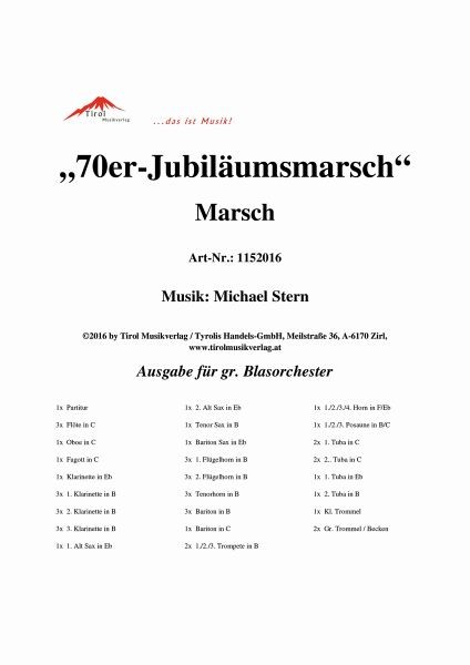 70er-Jubiläumsmarsch