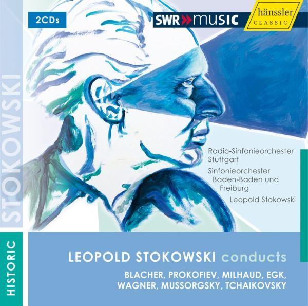 Leopold Stokowski Dirigiert