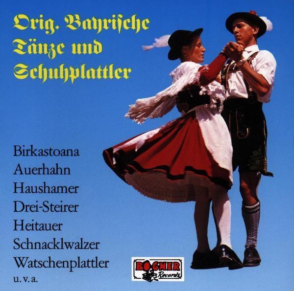 Bayerische Tänze Und Schuhplattler