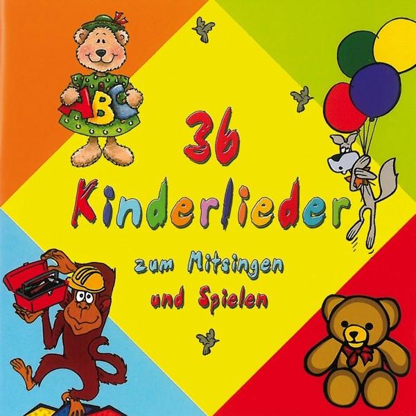 36 Kinderlieder zum Mitsingen und Spiele