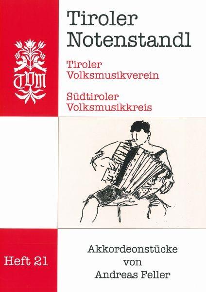 Heft 21 - Akkordeonstücke von Andreas Feller