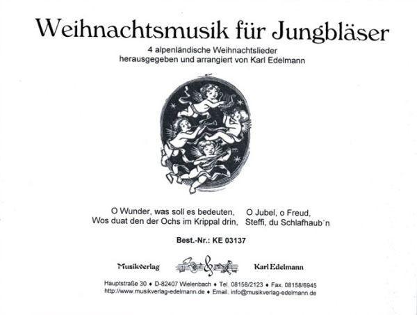 Alpenländische Weihnachtslieder Noten.Weihnachtsmusik Für Jungbläser