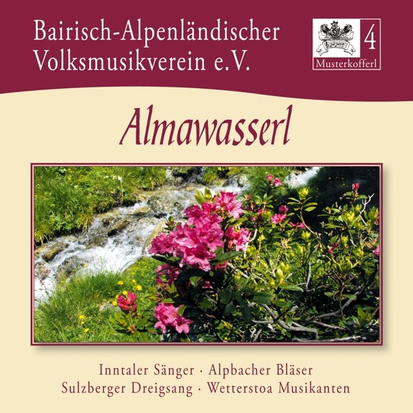 Musterkofferl 4-Almawasserl