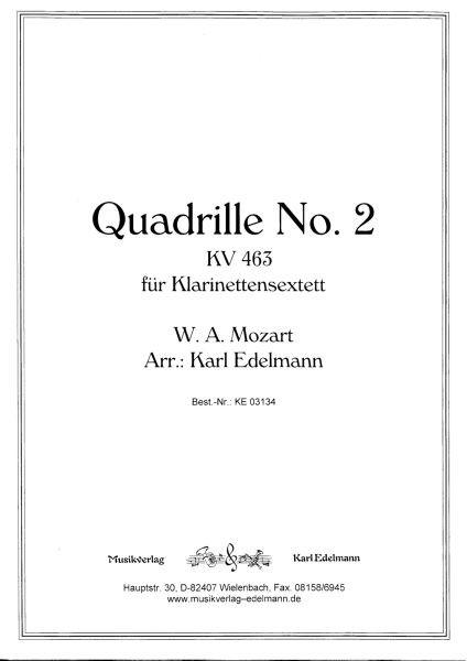Quadrille No.2 KV 463, W.A. Mozart