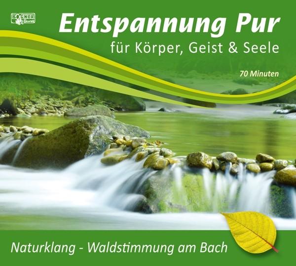 Naturklang-Waldstimmung am Bach