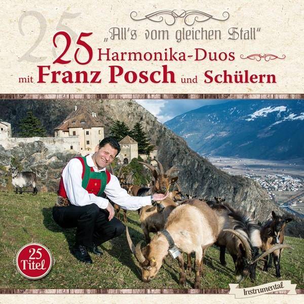 25 Harmonika-Duos mit Franz Posch/Sch