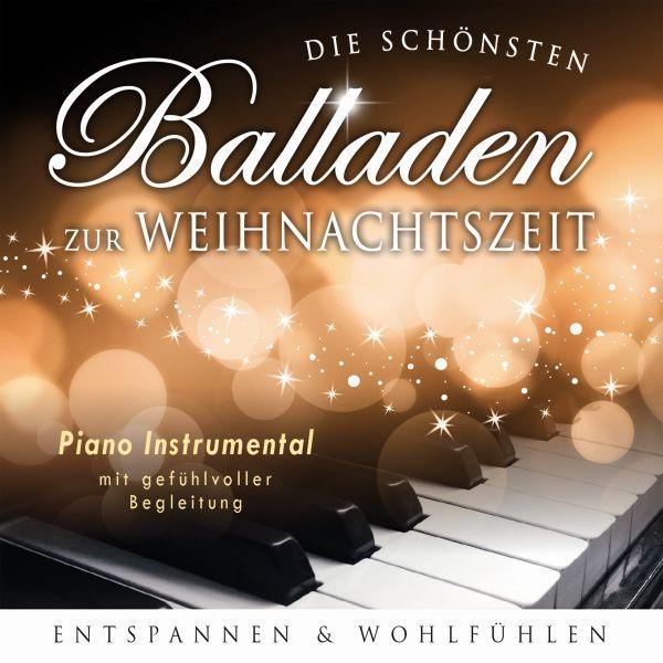 Piano Balladen z.Weihnachtzeit-Instr.