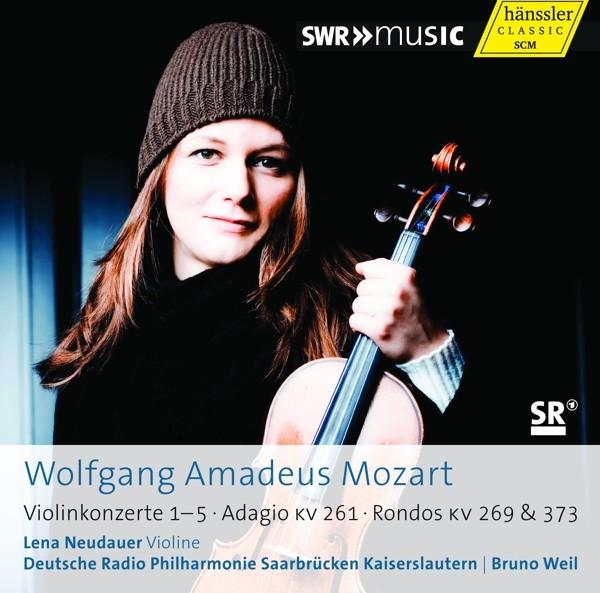 Mozart: Violinkonzerte 1-5/Adagio/Rondos