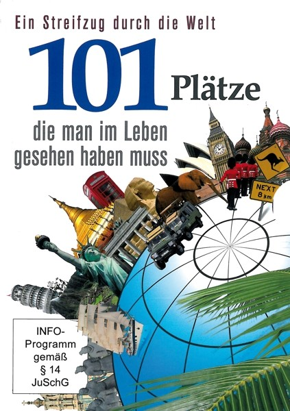101 Plätze-die man im Leben gesehen