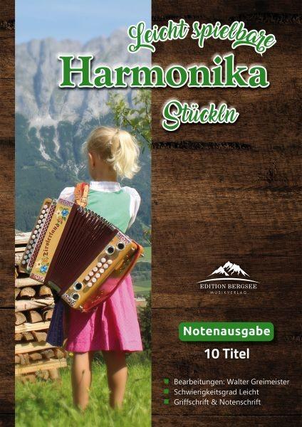 Leicht spielbare Harmonika Stückln
